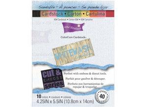 DESIGNER BLÖCKE  / DESIGNER PAPER Colorcore cardstock set whitewash