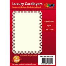 diseños de tarjeta de lujo, 3 piezas