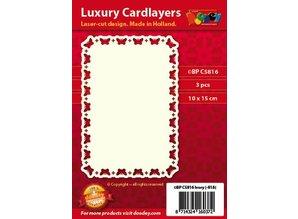 KARTEN und Zubehör / Cards diseños de tarjeta de lujo, 3 piezas