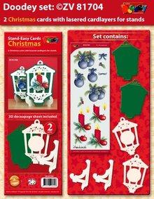 Exlusiv Esclusive Bastelset per 2 carte di Natale titolare della carta +
