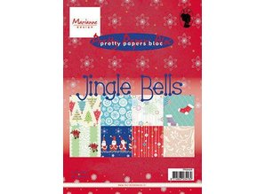 BASTELZUBEHÖR / CRAFT ACCESSORIES Desgnerblock, A5, Jingle Bells