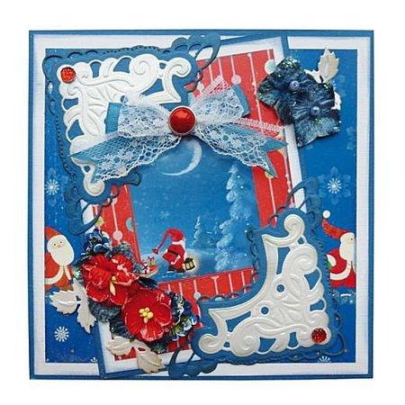 BASTELZUBEHÖR / CRAFT ACCESSORIES Desgnerblock, A5, Jingle Bells
