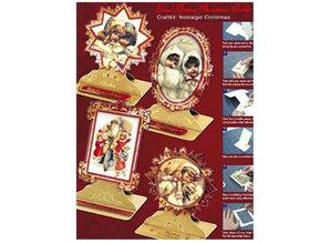 BASTELSETS / CRAFT KITS: Bastelset, nostalgico di Natale