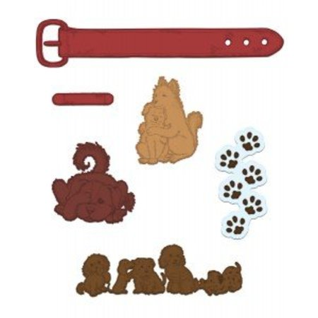 Heartfelt Creations aus USA NY KOLLEKTION! Pampered Pooch Collection