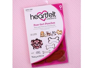 Heartfelt Creations aus USA NEW COLLECTION! Pampered Pooch Collection