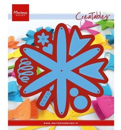 Marianne Design Stanz- und Prägeschablone: Rosette