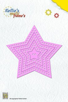 Nellie snellen cutting dies: Multi Frame Star