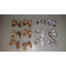 Decoration ribbons Antique Gold and silver