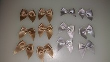 DEKO HOCHZEIT: SELBER MACHEN Decoration ribbons Antique Gold and silver
