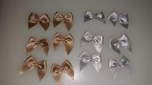 Embellishments / Verzierungen Mini sløjfer, 12 stykker