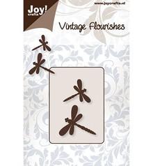 Joy!Crafts und JM Creation Punzonado y estampado en relieve plantillas: 2 de la libélula