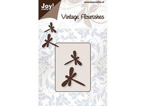 Joy!Crafts und JM Creation duttin dies: 2 Dragonfly