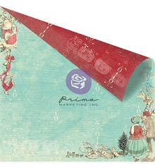 Prima Marketing und Petaloo scrapbook paper, 30.5 x 30.5 cm