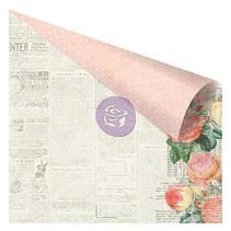 scrapbook papier, 30,5 x 30,5 cm in zachte kleuren