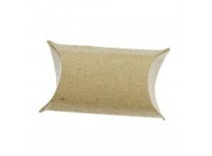 BASTELZUBEHÖR / CRAFT ACCESSORIES 24 Pillow Boxes, 9 x 6 x 3 cm, brun
