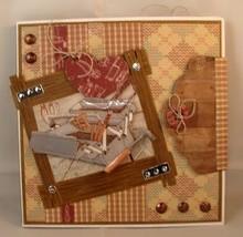 Marianne Design Punzonatura e modello di goffratura: legno