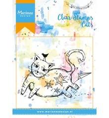 Stempel / Stamp: Transparent sello transparente: Gato
