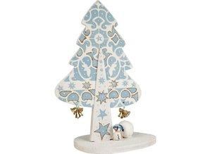 Objekten zum Dekorieren / objects for decorating 3D Weihnachtsbaum MDF