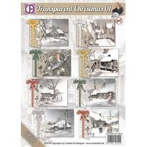 Komplettes Kartenset für 8 Weihnachtskarten