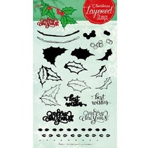Layered stempel, A5-format
