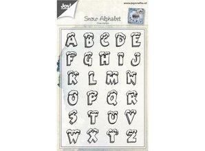 Stempel / Stamp: Transparent Transparent stamp: letter with snow