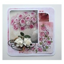 Sellos transparentes: Rosas