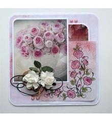 Stempel / Stamp: Transparent Sellos transparentes: Rosas
