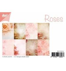DESIGNER BLÖCKE  / DESIGNER PAPER Paperblock, A4, Rosendesign