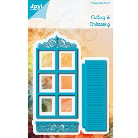 Joy!Crafts und JM Creation Stempling og prægning stencil: ramme / vindue