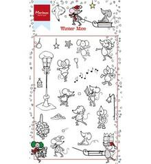 Stempel / Stamp: Transparent sello transparente: Invierno Mause