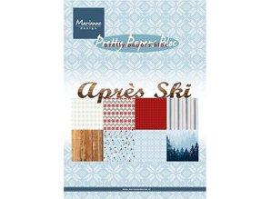 DESIGNER BLÖCKE  / DESIGNER PAPER Paper block A5, après ski