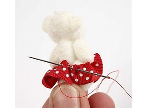 Embellishments / Verzierungen 6 Deco Mini Teddy Bear
