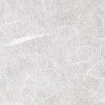 papier de soie de paille, 47 x 64 cm, blanc