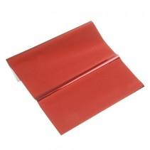 folha metálica, de 200 x 300 mm, 1 folha, vermelho