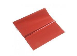 BASTELZUBEHÖR / CRAFT ACCESSORIES lamina metallica, 200 x 300 mm, 1 foglio, rosso