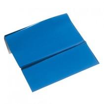 folha metálica, de 200 x 300 mm, 1 folha, azul