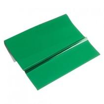 Metallfolie, 200 x 300 mm, en plate, grønt