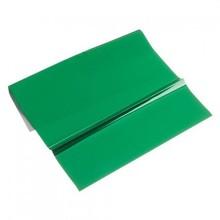 BASTELZUBEHÖR / CRAFT ACCESSORIES lamina metallica, 200 x 300 mm, 1 foglio, verde