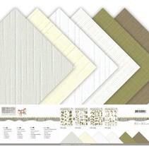 Papir blok, lærred, 30,5 x 30,5 cm