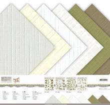 DESIGNER BLÖCKE  / DESIGNER PAPER Papir blok, lærred, 30,5 x 30,5 cm