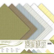 Paperblock, Leinen, 30,5 x 30,5 cm