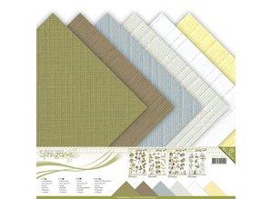 DESIGNER BLÖCKE  / DESIGNER PAPER bloques de papel, lona, 30,5 x 30,5 cm