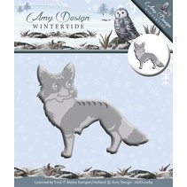 Punching and embossing template: Wintertide, Fox