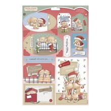 Forever Friends A4 cut sheets, labels / tags