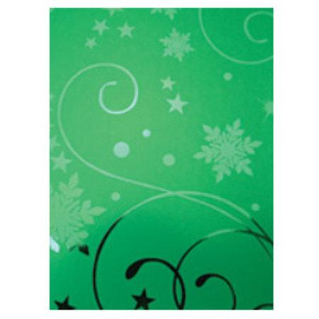 DESIGNER BLÖCKE  / DESIGNER PAPER A4 Effekt Karton, Weihnachtsgrün