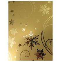 A4 effect cardboard, gold