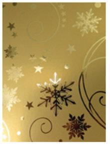 DESIGNER BLÖCKE  / DESIGNER PAPER A4 effetto cartone, oro