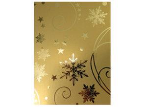 DESIGNER BLÖCKE  / DESIGNER PAPER A4 efecto de cartón, oro