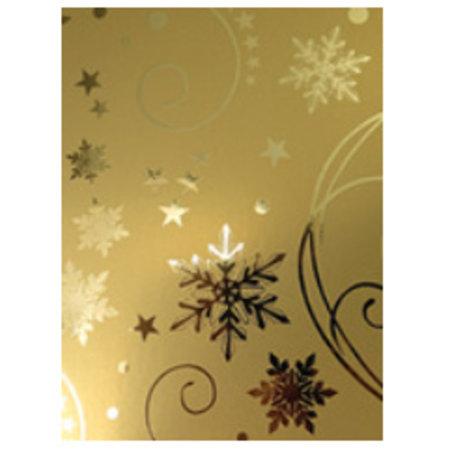 DESIGNER BLÖCKE  / DESIGNER PAPER A4 Effekt Karton,  gold