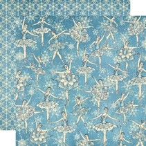 Scrapbooking document, Nutcracker Sweet Collection, Snowflake Waltz